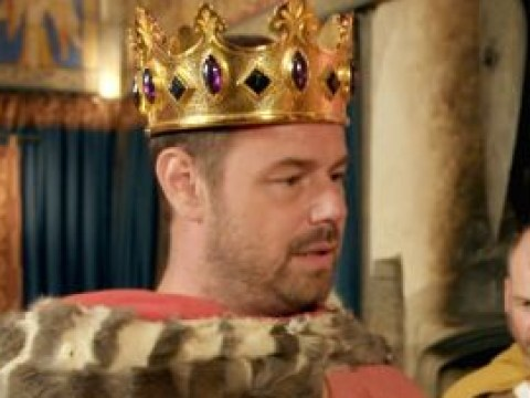 Danny Dyer strips down to tiny pants and has a right regal knees up in first look at Right Royal Family