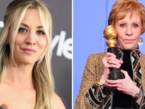 The Big Bang Theory's Kaley Cuoco fumes over claims she snubbed Carol Burnett's Golden Globes speech