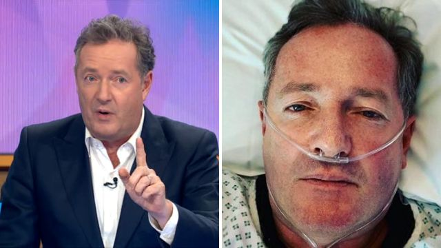 Piers Morgan had no idea he posted worrying selfie from his hospital bed: 'I look like I'm about to die'