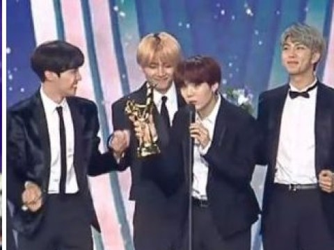 BTS leave us in hysterics as they pretend to be strangers at Golden Disc Awards