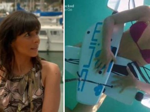 Roxanne Pallett loses her knickers in underwater mishap on Celebrity Coach Trip