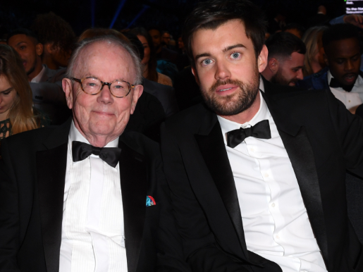 Jack Whitehall takes his dad to the NTAs on the tube – and he's fuming