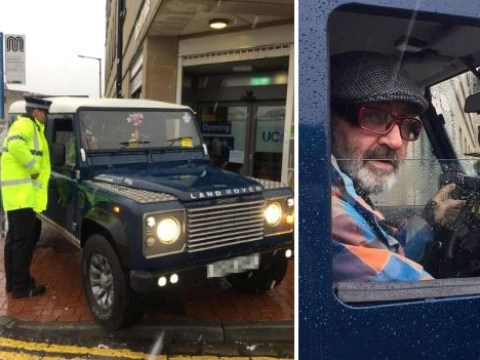 Man parks Land Rover in front of Jobcentre after being refused extra benefits