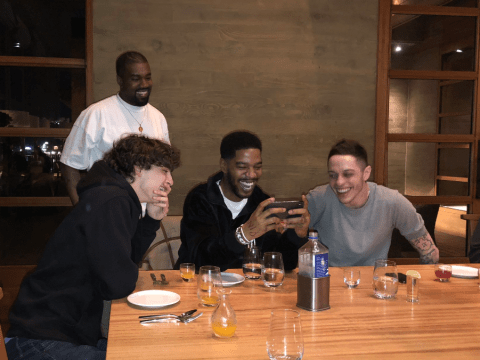 Kid Cudi celebrates birthday with Kanye West, Pete Davidson and Timothee Chalamet – an unlikely squad
