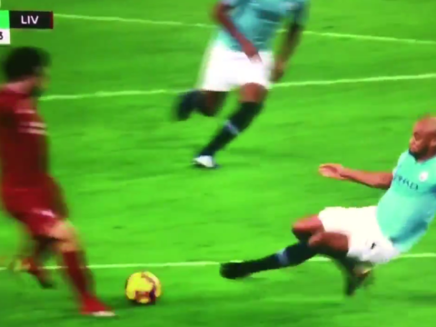 Red card? Liverpool fans rage that Vincent Kompany wasn't sent off