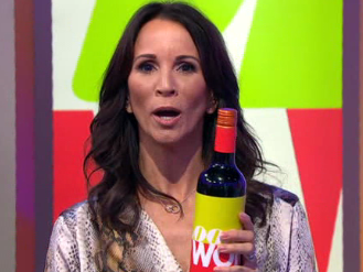 Loose Women opt for a live 'wine workout' and we're not really sure what to make of it