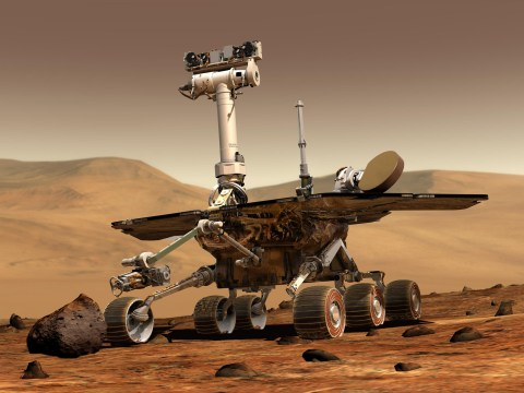 Nasa marks 'bittersweet' anniversary of Opportunity's 15 years on Mars