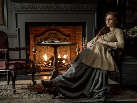 Outlander's Brianna debuts her baby bump in new series four pics but where oh where is Roger?