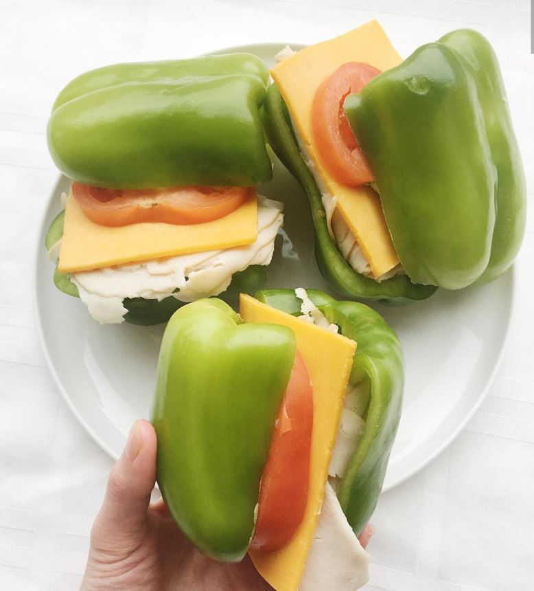 Pepper sandwiches are now a thing – but we're not sure why