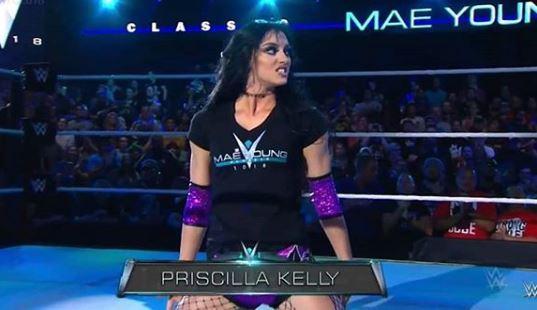Priscilla Kelly in Mae Young Classic