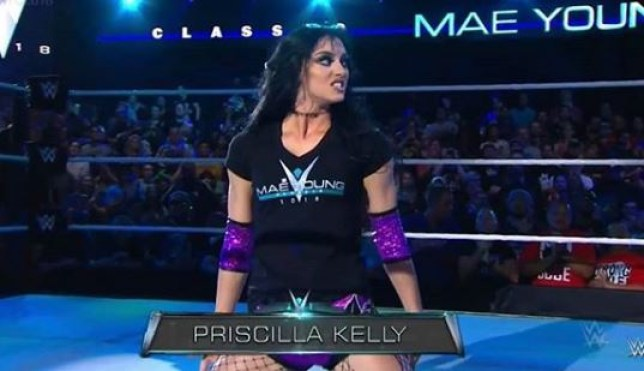 Priscilla Kelly in Mae Young Classic