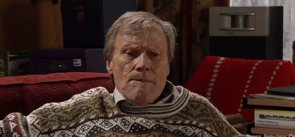 Coronation Street spoilers: What's wrong with Roy Cropper as he lies to Carla Connor?