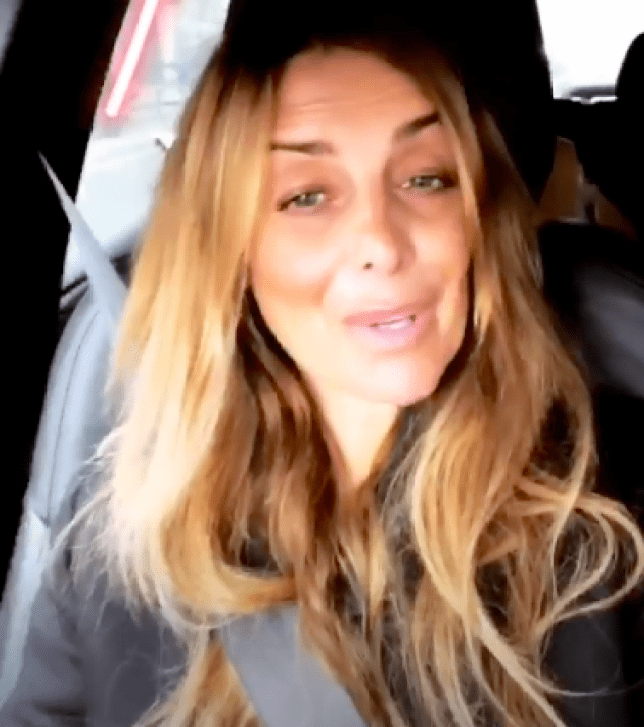 Louise has shared an update on her recovery (Instagram/Louise Redknapp)