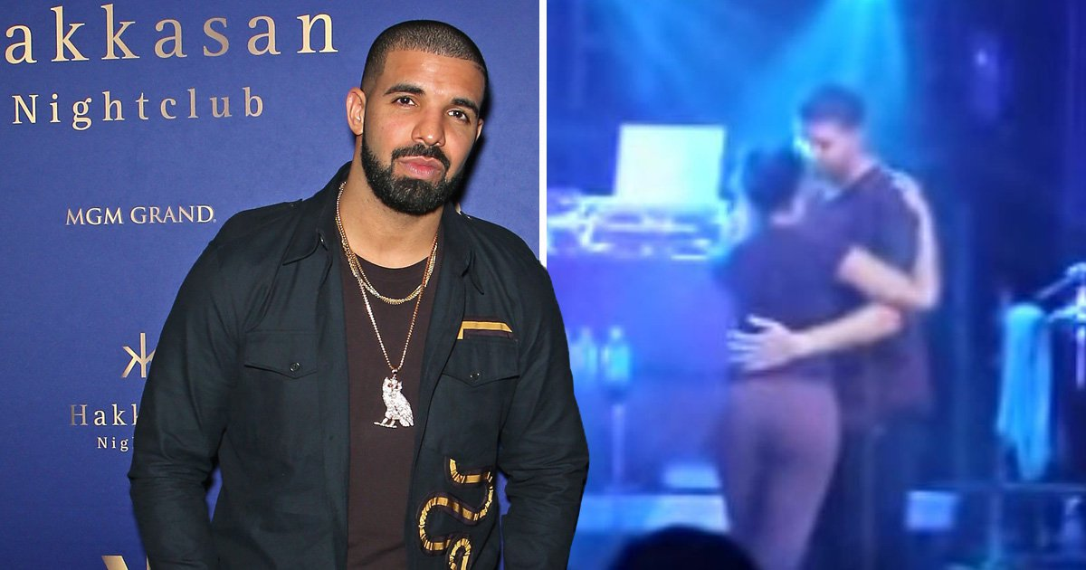 Resurfaced video shows Drake kissing young girl, 17, on-stage: 'I can't go to jail yet'