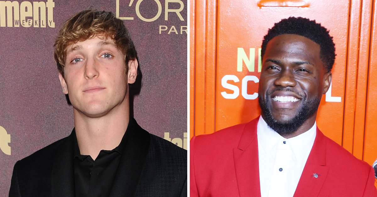 Logan Paul joins Ellen Degeneres in supporting Kevin Hart returning as Oscars host after 'homophobic' tweets