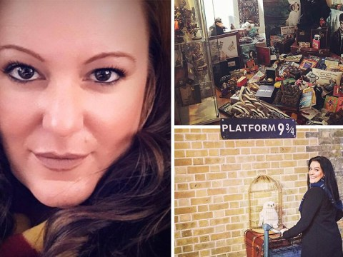 Welsh mum aims to break the record for the most Harry Potter memorabilia
