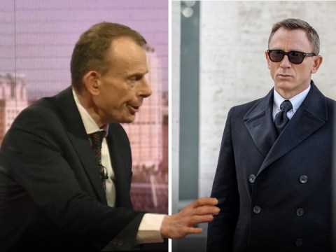 Andrew Marr makes hilarious I, Daniel Craig blunder during Theresa May chat