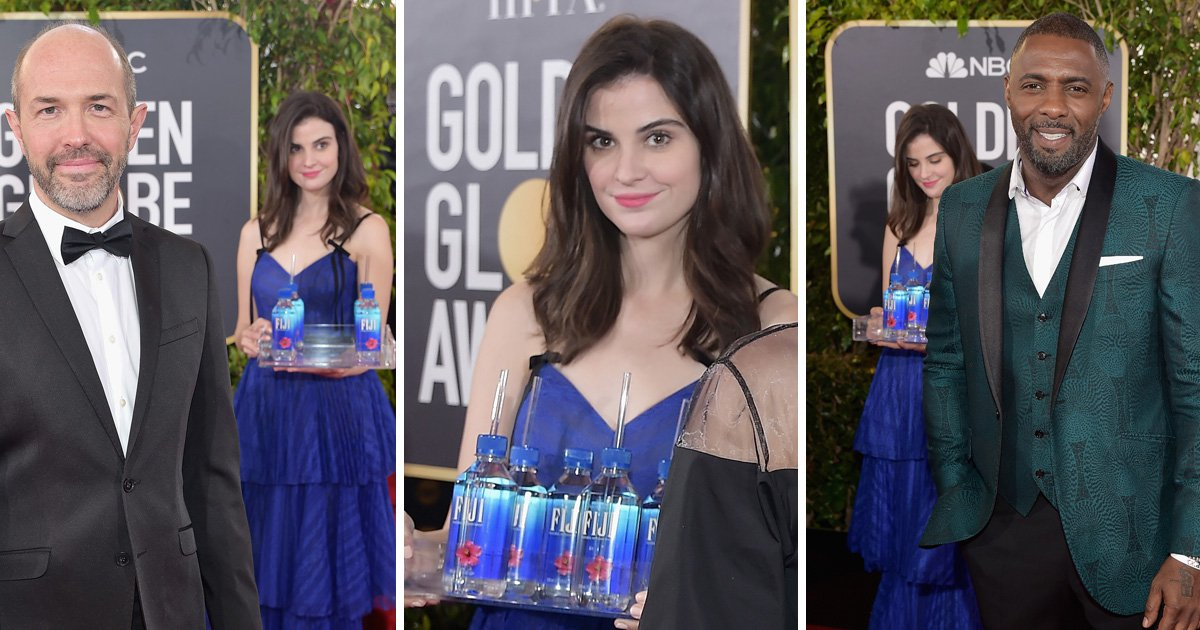Fiji Water girl Kelleth Cuthbert is 'ready for fame' after becoming internet sensation for photobombing at Golden Globes