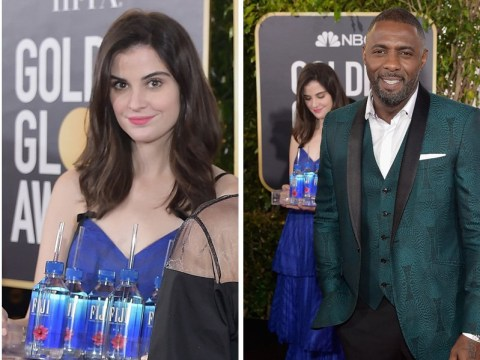 Sorry everyone, the Fiji Water Girl won't be at next year's Golden Globes to photobomb celebrities