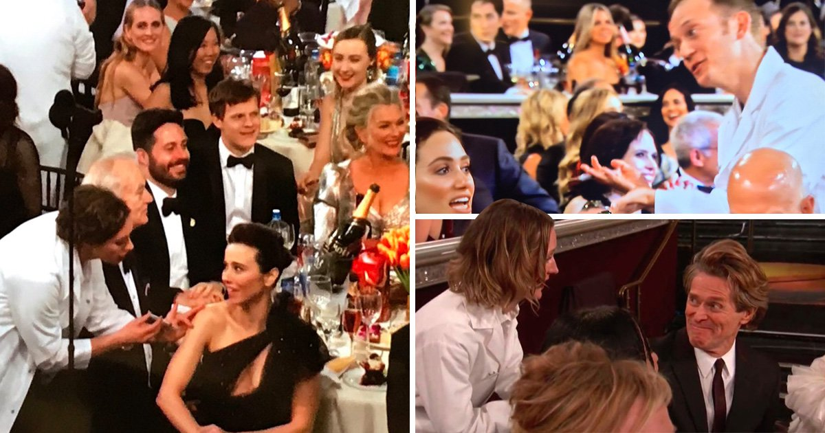 Golden Globes hosts gave out flu jabs instead of pizza this year but not all of Hollywood was happy