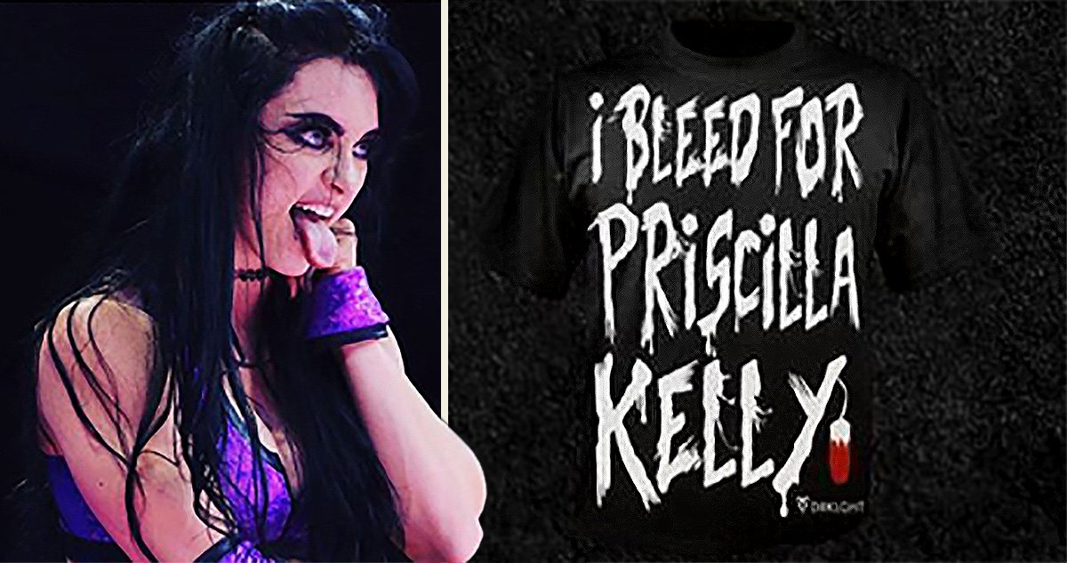 Wrestler Priscilla Kelly defends herself after shoving 'used tampon' into opponent's mouth