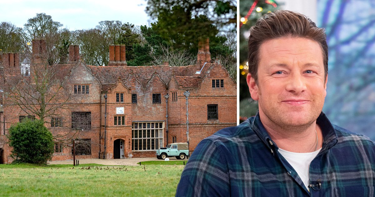 Jamie Oliver splurges on £6 million mansion with a haunted rocking horse despite 'challenging' financial woes