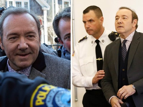 Kevin Spacey pleads not guilty as he appears in court over sexual assault case