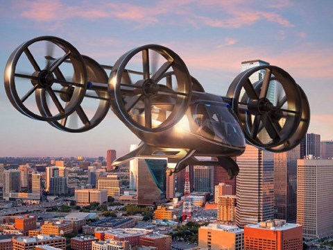 Uber could be flying us around in one of these by the 'mid-2020s'