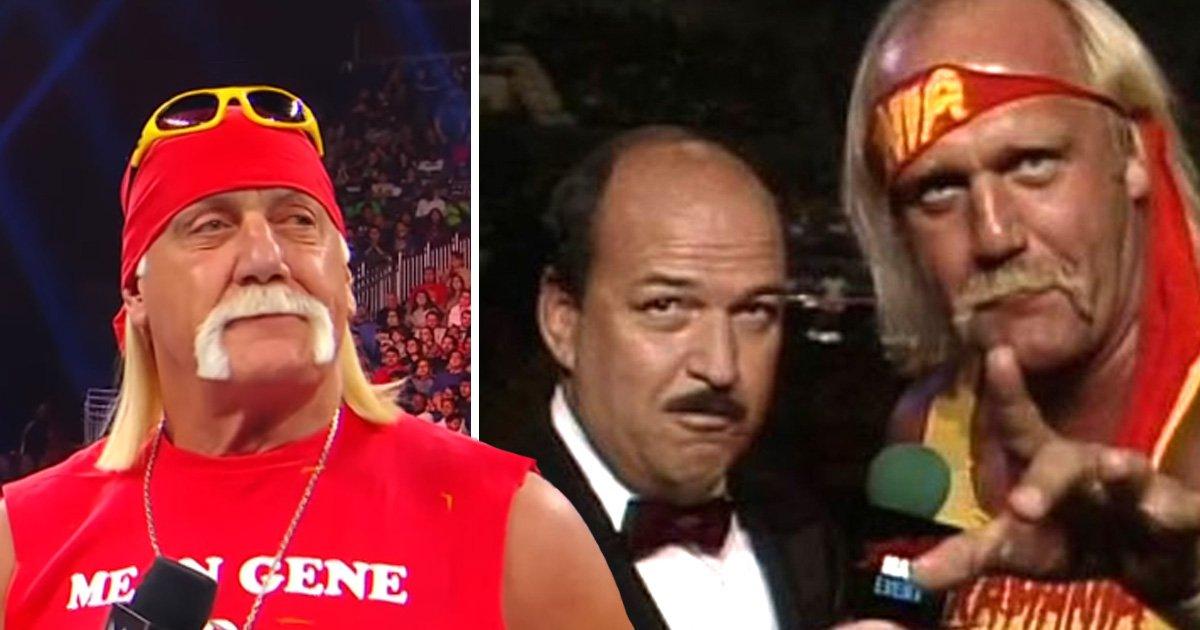 Hulk Hogan tears up as he pays tribute to WWE legend 'Mean' Gene: 'I love you, I miss you'