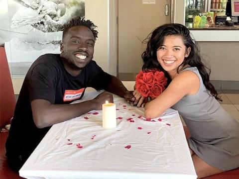 Dream man surprises girlfriend with romantic three-course dinner at KFC