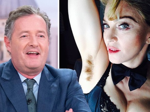 Piers Morgan claims men don't fancy women with body hair and Susanna Reid is furious