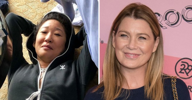 are sandra oh and ellen pompeo friends