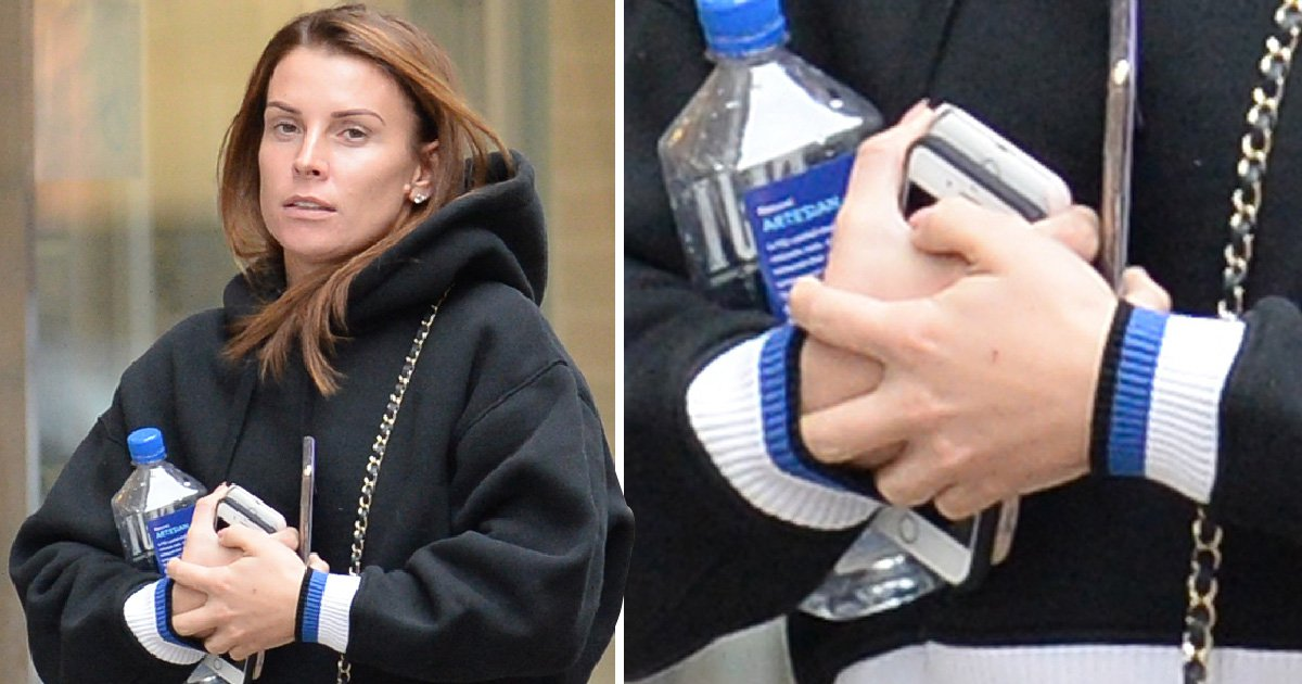 Coleen Rooney goes without wedding ring for spa day after husband Wayne's airport arrest