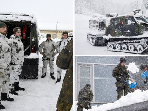 At least 16 dead as huge snow storms hit Europe