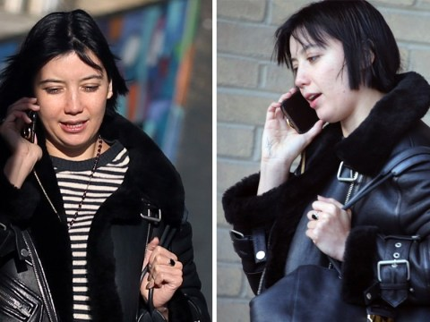 Daisy Lowe is fresh-faced and au naturel after worrying she's 'always under scrutiny'