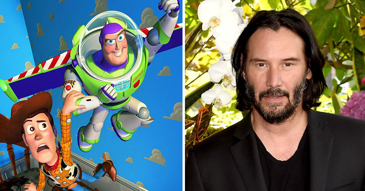 Who is Keanu Reeves' character going to be in Toy Story 4?