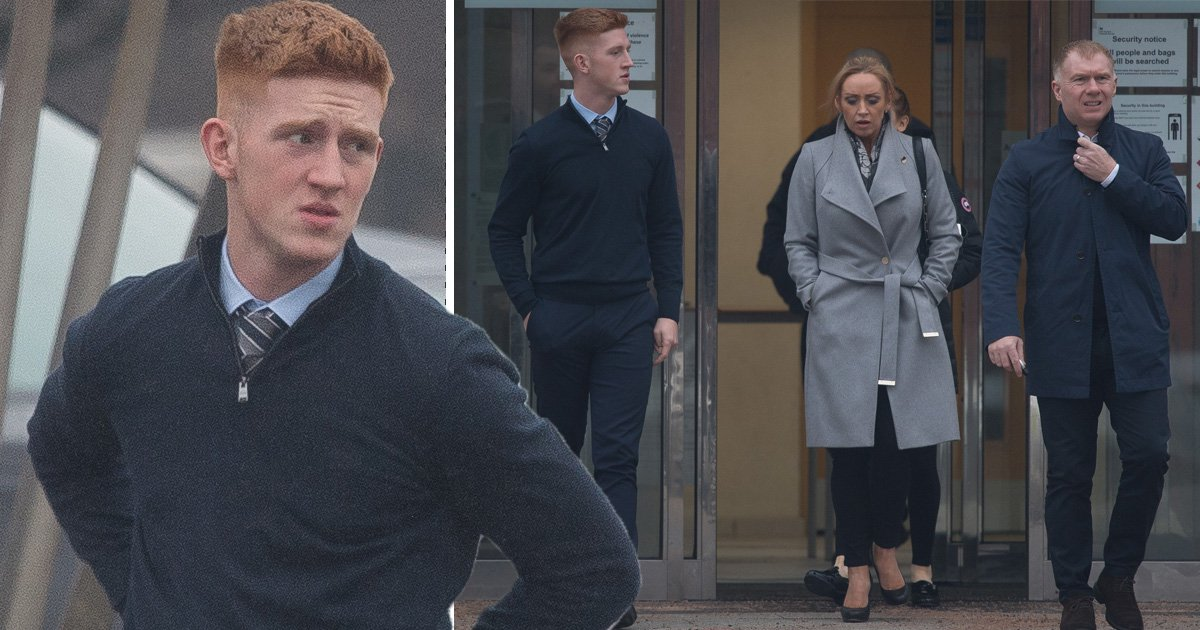 Paul Scholes' son, 19, accused of beating up man in pub