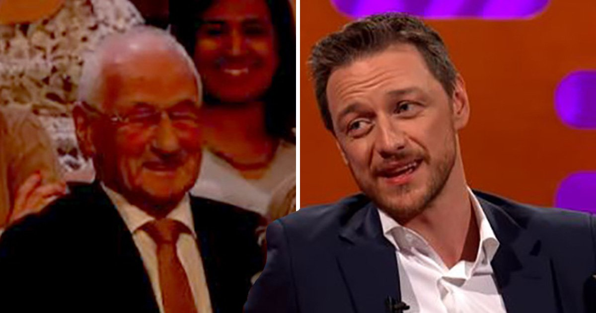 James McAvoy reveals he shaved his balls with grandad's razor on Graham Norton – with him in the audience
