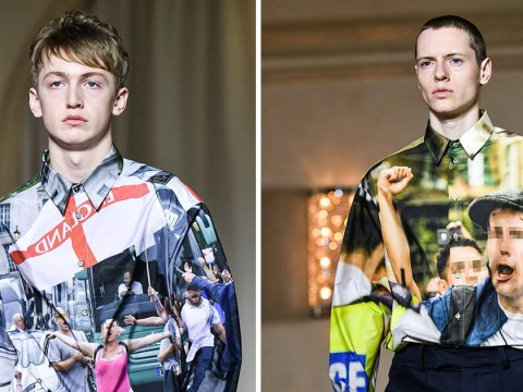 British protesters showcased on the catwalk at Milan Fashion Week