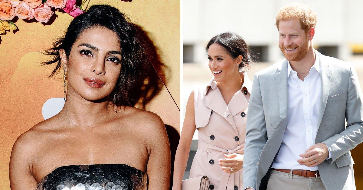 Priyanka Chopra to be meghan and Harry's godmother