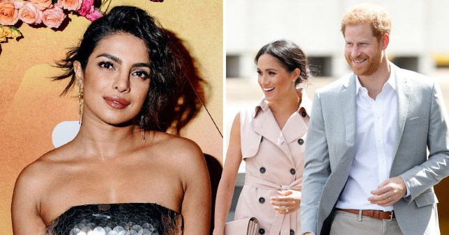 Priyanka Chopra to be meghan and Harry's godmother