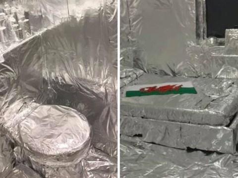 Soldier wraps friend's entire room tin foil to 'teach him a lesson'