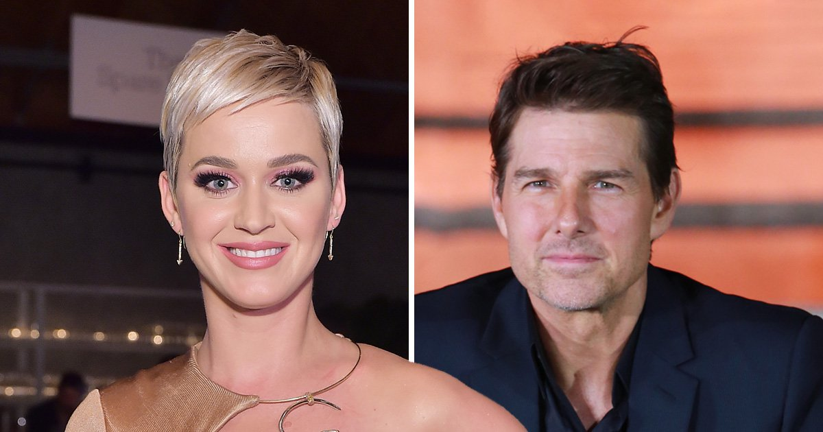 Katy Perry suspended from school after 'thrusting' at Tom Cruise – a tree not the actor