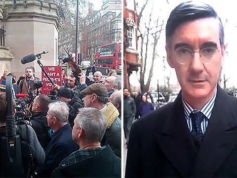 Jacob Rees-Mogg predicts defeat for May's deal and promises 'Brexit is 73 days away'