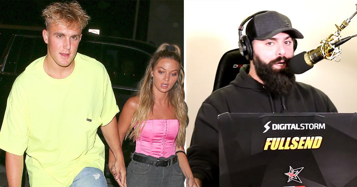 Jake Paul branded a 'hypocrite' after blasting Keemstar for 'body shaming' Erika Costell