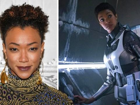 Star Trek: Discovery's Sonequa Martin-Green comes dangerously close to revealing a spoiler