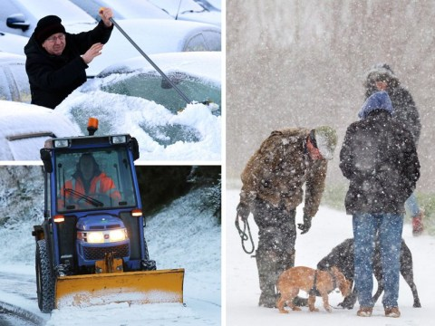 Arctic blast hits Britain as Met Office warns of snow and ice sweeping UK