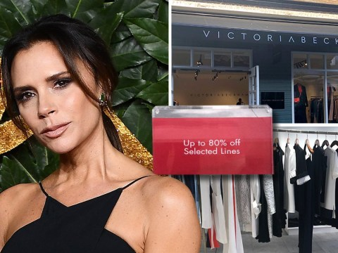 Victoria Beckham offers 80% reductions at outlet fashion store after her brand 'loses £10 million'