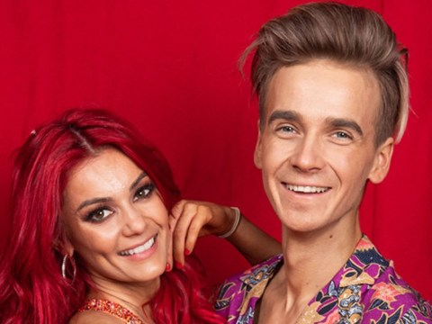 Joe Sugg and Dianne Buswell style out fall like pros on Strictly Come Dancing tour as they get 'caught up in the rock n roll'