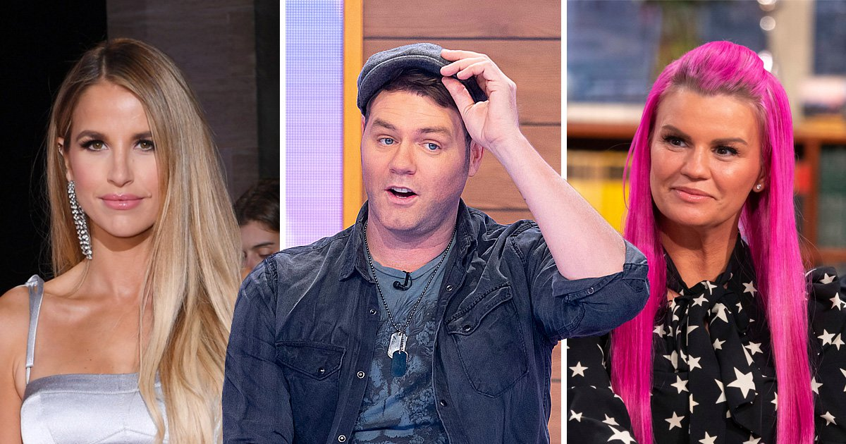 Dancing On Ice's Brian McFadden dismisses marriages to Vogue Williams and Kerry Katona as 'just a party'